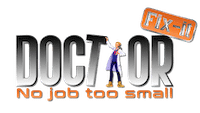Doctor Fix It logo Moorestown Handyman Services