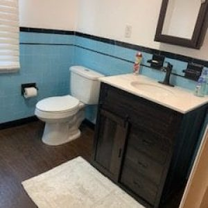 deptford bathroom remodel project by doctor fix-it handyman services