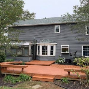 deck staining by moorestown handyman service